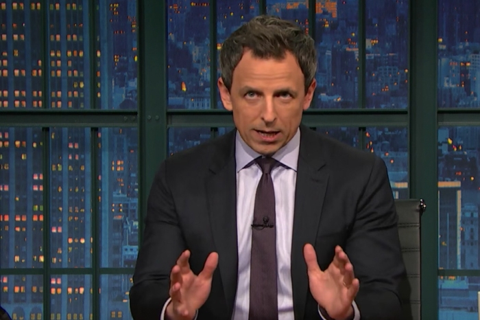 Seth Meyers enjoyed eviscerating media fawning over President Trump's speech as much as cracking on Trump