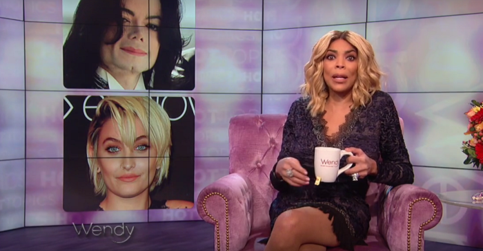"""Wendy Williams just goes off on Paris Jackson for considering herself """"Black. Period."""""""