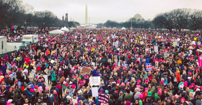 The Women's March on Washington and its sister marches sent a clear message to President Trump