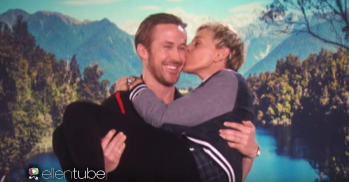 "The hilarious Ellen DeGeneres spoofs ""La La Land"" with a casting choice we never saw coming"