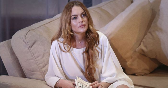 Lindsay Lohan opened up about an important change in her life