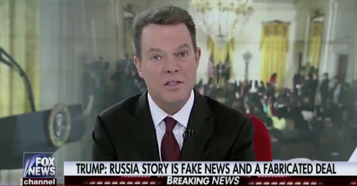 Shepard Smith spoke up after President Trump didn't fully answer a question about Russia
