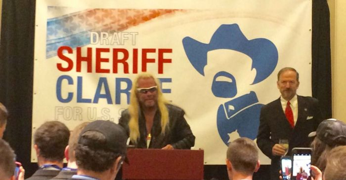Dog the Bounty Hunter had a message about bipartisanship at CPAC