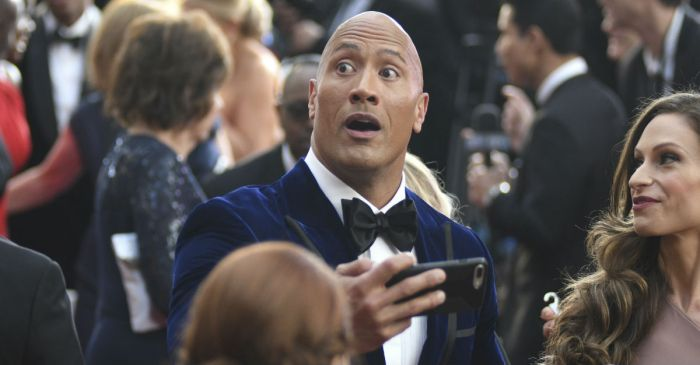 It's safe to say that The Rock deserves an Oscar for his reaction to the Best Picture mix-up