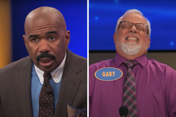 Steve Harvey Left Dumbfounded by Off-The-Wall 'Family Feud' Answer