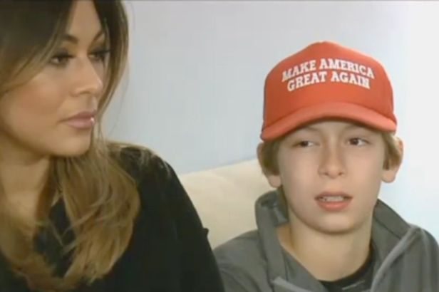 "6th Grader Was Attacked for Wearing a ""Make America Great Again"" Hat"