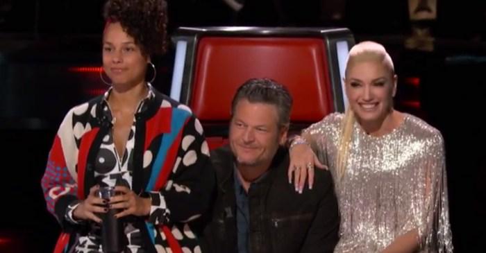 """Gwen Stefani admits to talking about """"cute boys"""" who aren't Blake Shelton"""