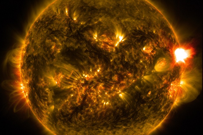 These massive explosions on the Sun have a specific name