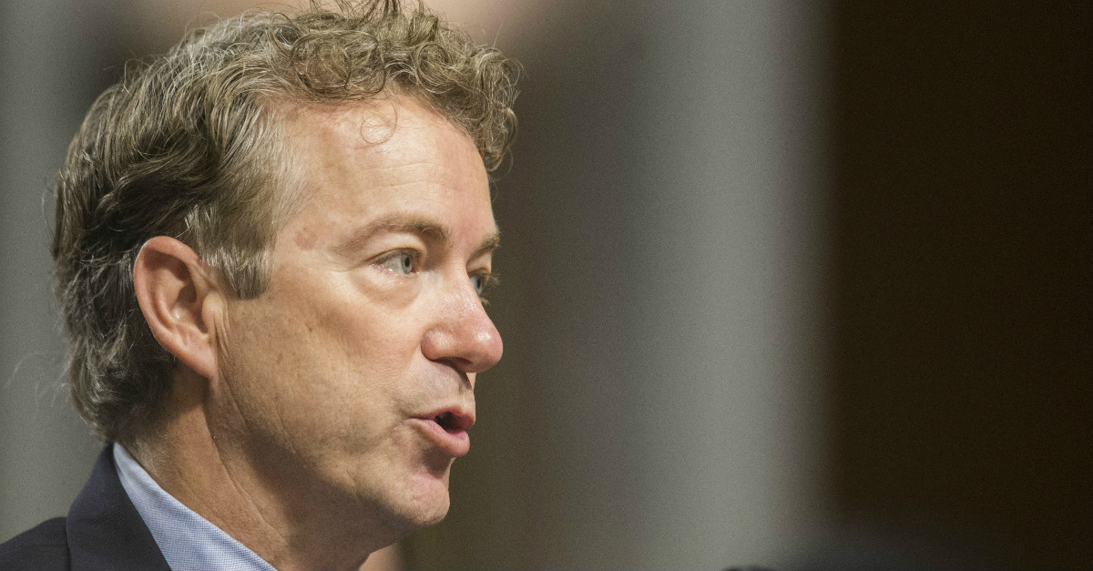 A man is in jail after Senator Rand Paul was attacked at his home