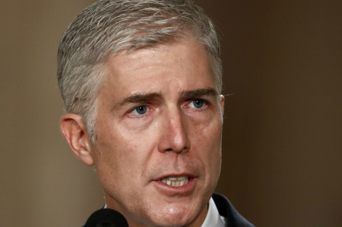 Neil Gorsuch, Trump's Supreme Court pick, founded a rather interesting club in high school