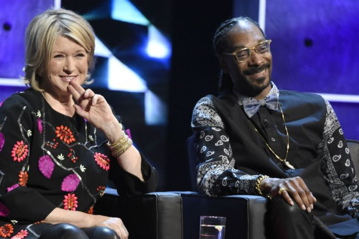 We have a lot of feelings for the Martha Stewart and Snoop Dogg commercial and excited is all of them