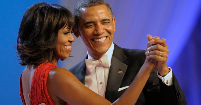 Michelle Obama posts a sweet Valentine's Day message to her husband and dedicates a romantic playlist to him