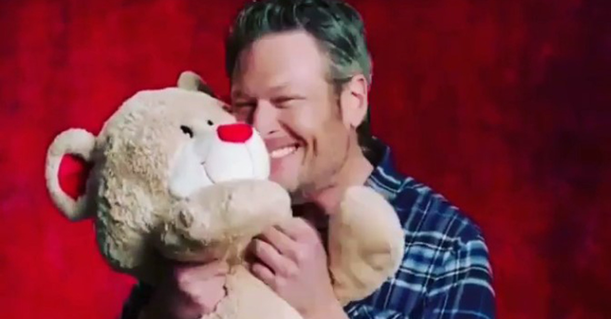 Could this really be what Blake Shelton is getting Gwen Stefani for Valentine's Day?