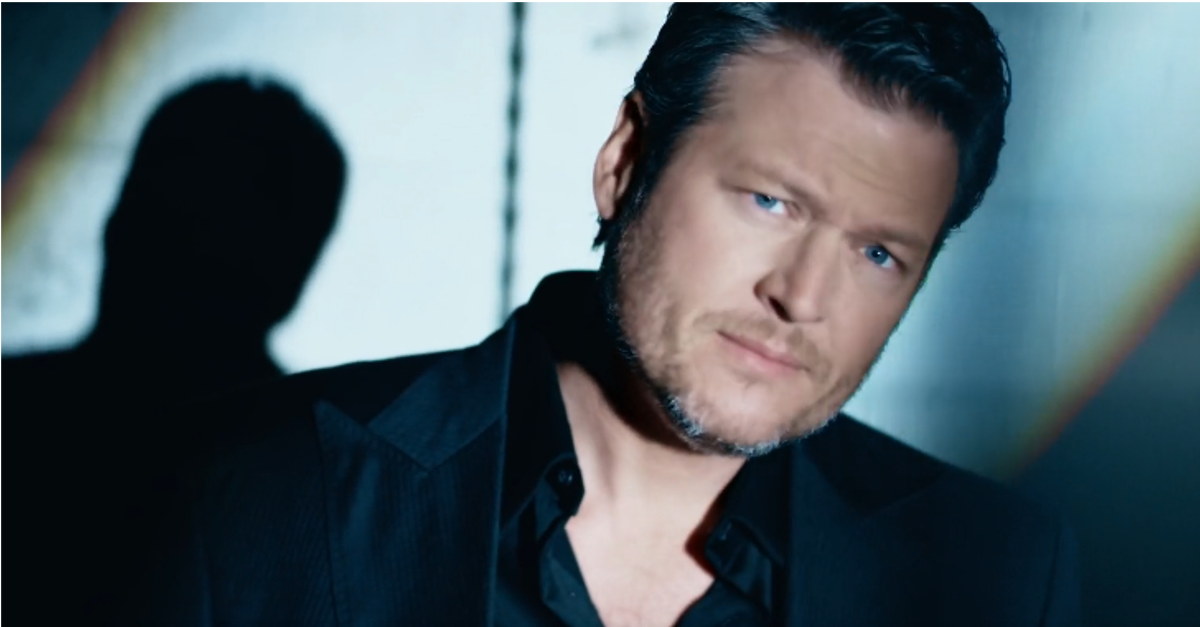 Blake Shelton gets downright mysterious in his brand-new music video