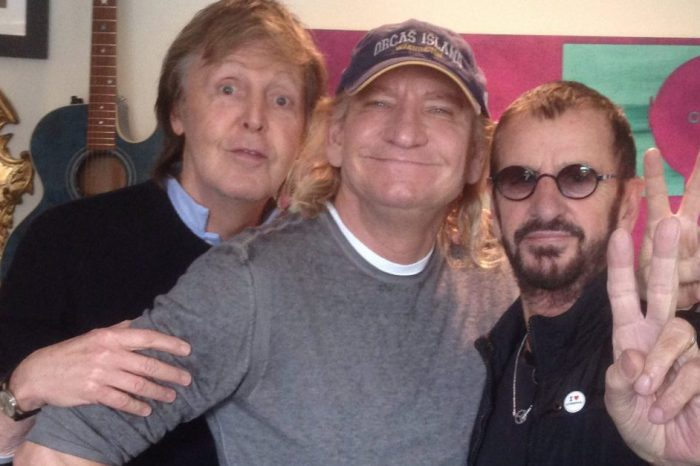 Whoa! Paul and Ringo get together in the studio for the first time in seven years
