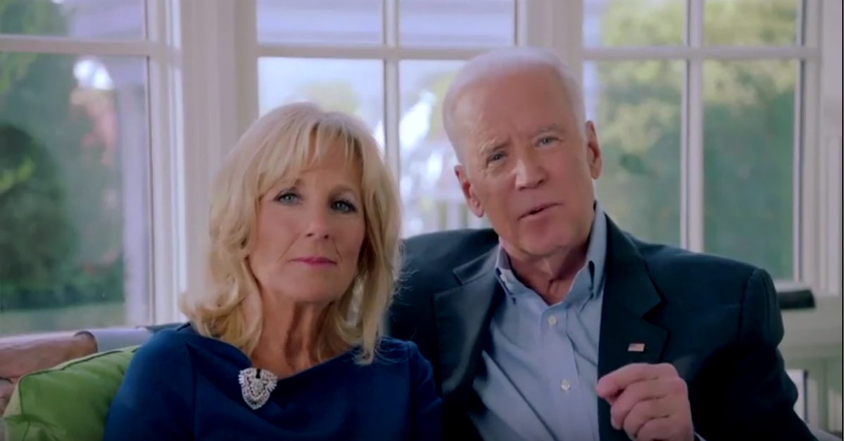 Joe Biden and his wife Jill unveil their new foundation in a brief video