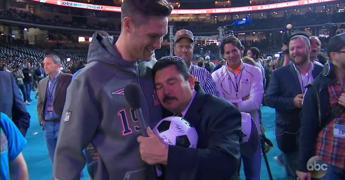 Jimmy Kimmel sent his top reporter, Guillermo, to ask NFL players and coaches about the big game, and the tough guys couldn't keep a straight face