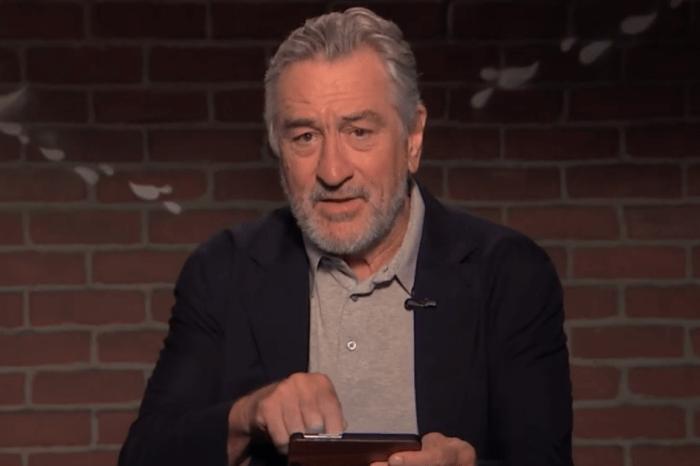 Robert De Niro reads some below-the-belt mean tweets that are very NSFW