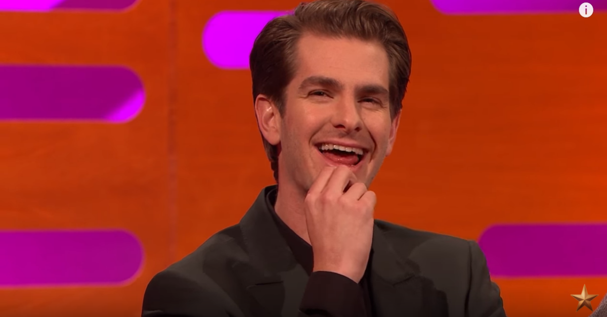 Andrew Garfield relives the night that he and Ryan Reynolds stole Ryan Gosling's spotlight by locking lips
