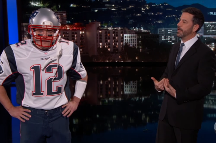 "Super Bowl MVP Tom Brady stopped by ""Jimmy Kimmel Live,"" but there's just one problem"