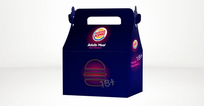 Burger King is putting naughty toys in meals this Valentine's Day so you can get some fries with that shake