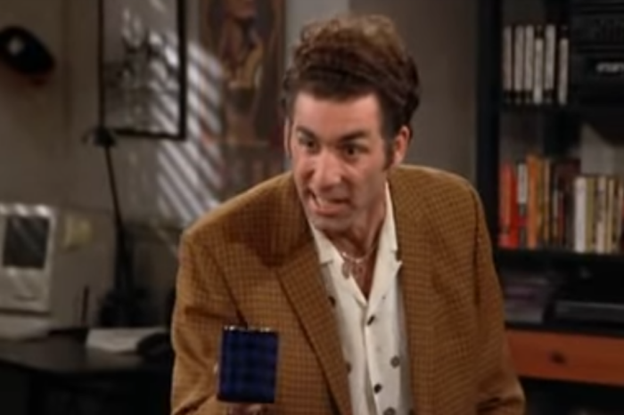 Kramer's scotch commercial is the stuff of sitcom legend