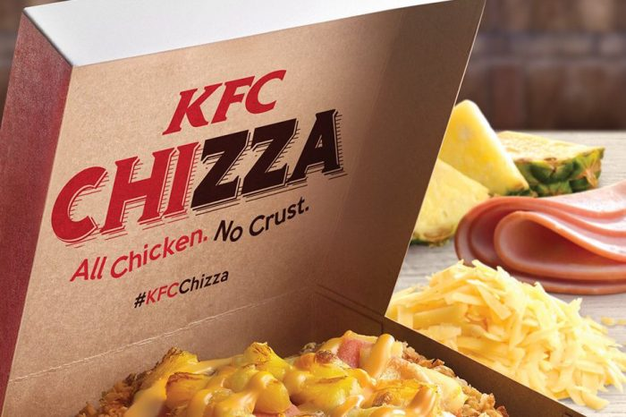 Never decide between chicken and pizza again, say KFC and this insane menu item