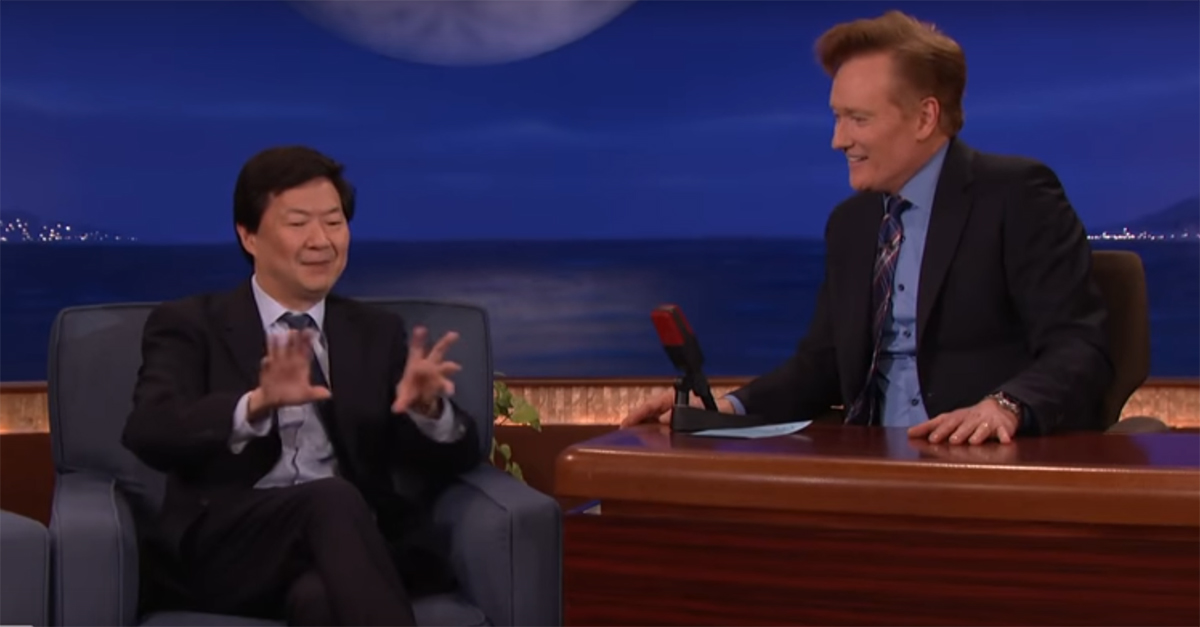 One of Ken Jeong's doctor friends once turned a strip club into a free clinic