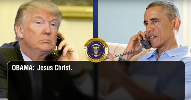 Conan's back with more Trump/Obama phone calls, this time covering the immigration ban