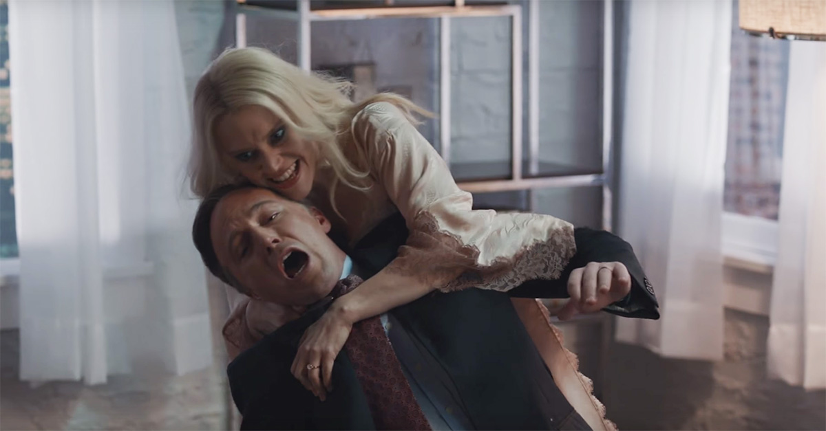 """Flashback: Kellyanne Conway Goes Full """"Fatal Attraction"""" on Jake Tapper in this """"SNL"""" Short"""