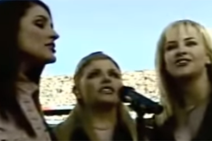 Flashback to a time when the Dixie Chicks sang the praises of our nation