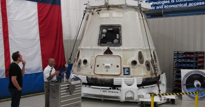 SpaceX's Dragon craft is due to the ISS on Wednesday