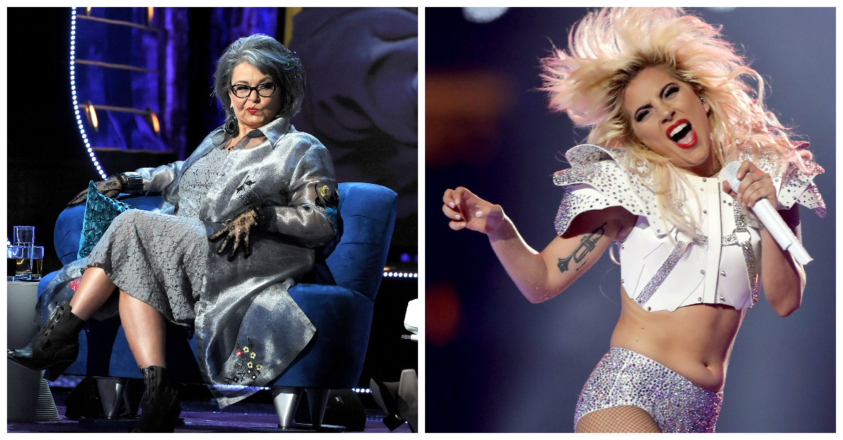 Roseanne Barr had no idea who Lady Gaga was prior to her incredible Super Bowl halftime show