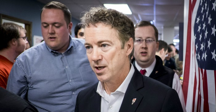 "Rand Paul slams Jeff Sessions' new drug sentencing policy as an ""injustice"" to minority communities"