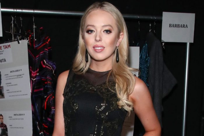 "The fashion editor who said ""nobody"" wanted to sit next to Tiffany Trump just changed her story, ""bigly"""