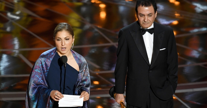 One Academy Award winner protested Trump's immigration ban with this powerful acceptance speech