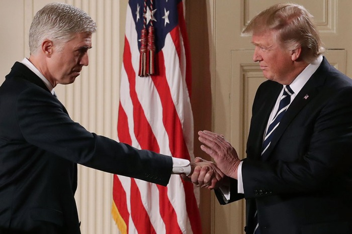 You know Hollywood had something to say about President Trump's Supreme Court nominee Neil Gorsuch