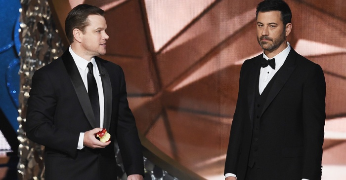 Ellen DeGeneres stirred up more drama in the 13-year feud between Matt Damon and Jimmy Kimmel