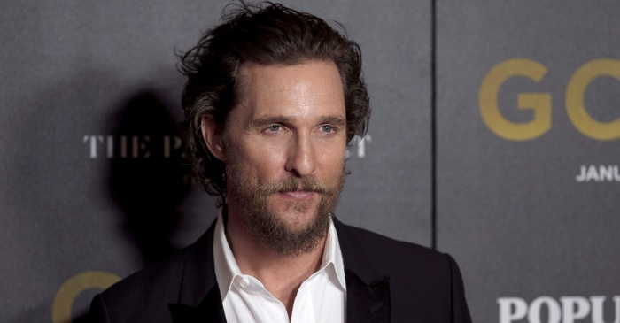 Matthew McConaughey weighs in on Hollywood's outspoken opinion about President Trump