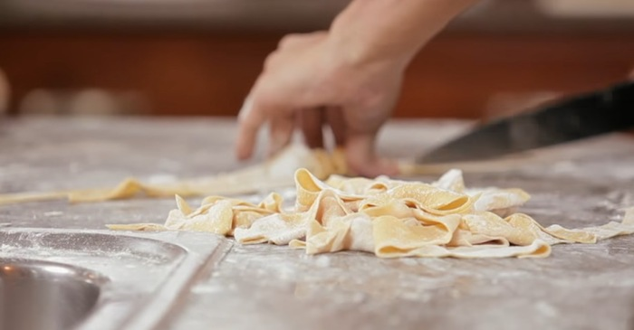 It's easier than you think to make fresh pasta at home with this 2-ingredient recipe