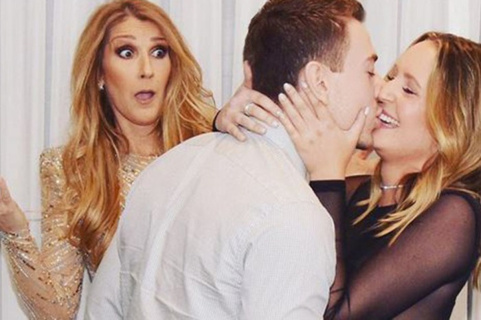 A man popped the question during a meet and greet with Céline Dion and the look on her face says it all