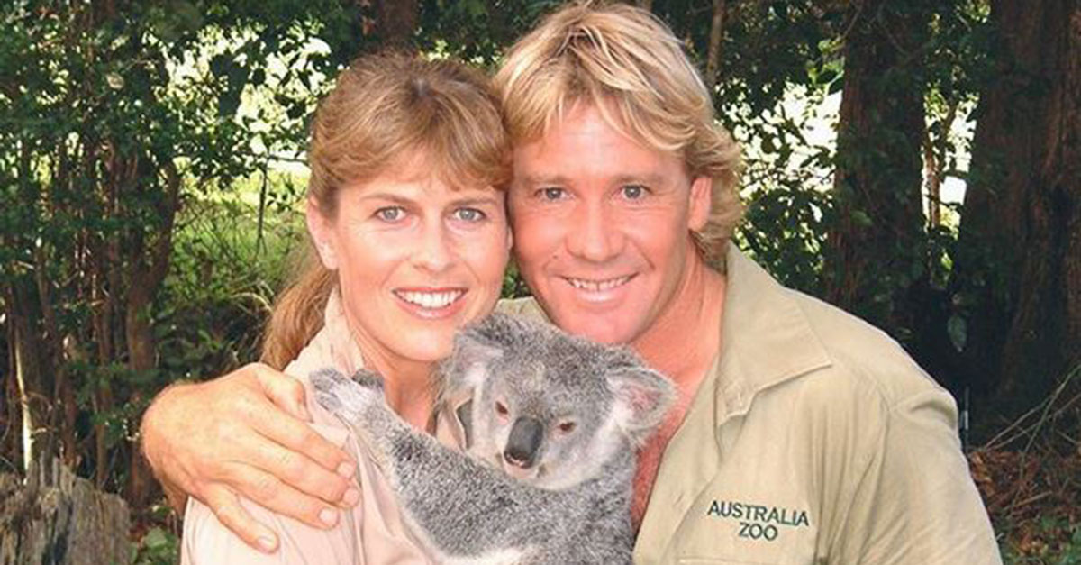 "Bindi Irwin shares an adorable photo of her parents as an example of ""true love"""