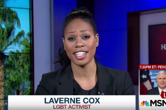 Laverne Cox showed off her debate skills by challenging Trump's lifting of protections for transgender students