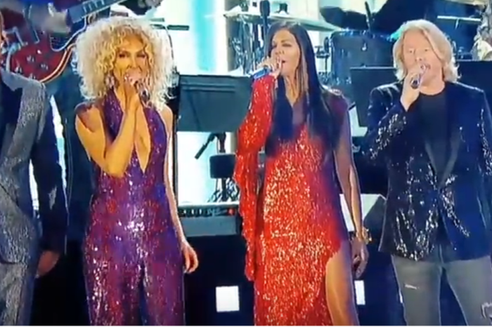 Little Big Town shined bright in this Bee Gees Grammy tribute