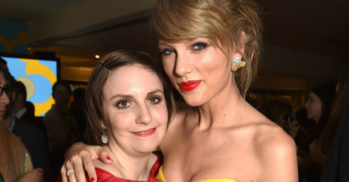 Actress Lena Dunham shared a message for Taylor Swift after the singer's difficult testimony against the DJ who allegedly groped her
