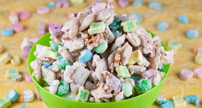 Bring the luck o' the Irish into your home with this simple, delicious leprechaun bait