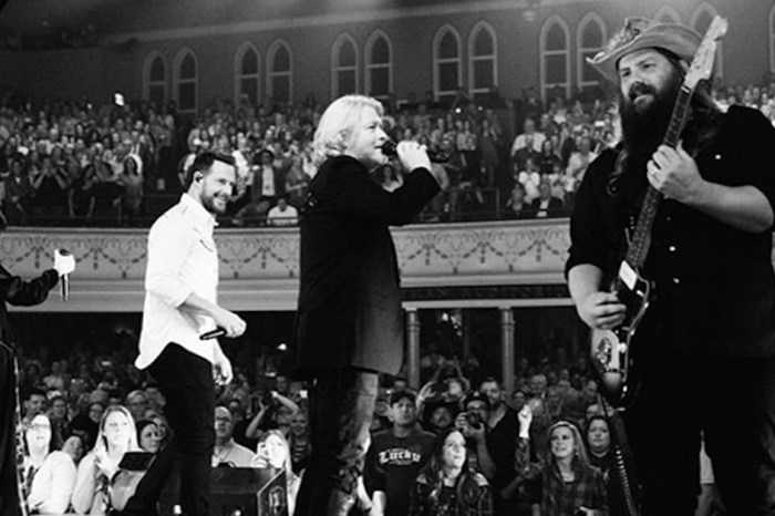 Little Big Town just joined Chris Stapleton for a heavenly version of his signature song