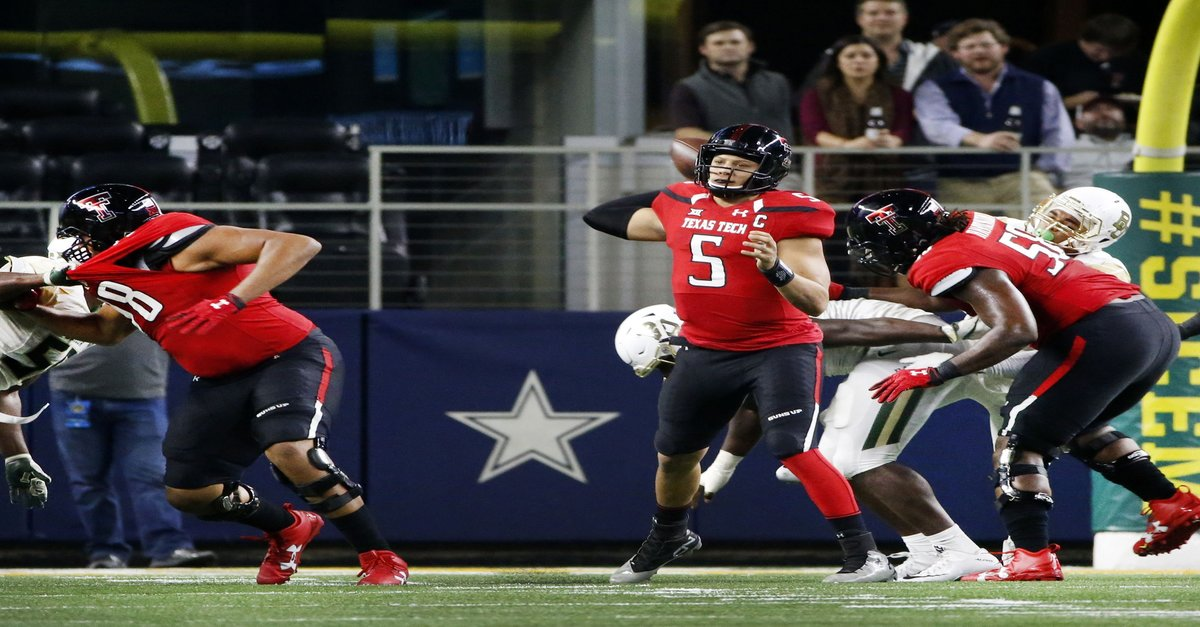 Texas Tech's quarterback could be the answer to the Texans' QB prayers