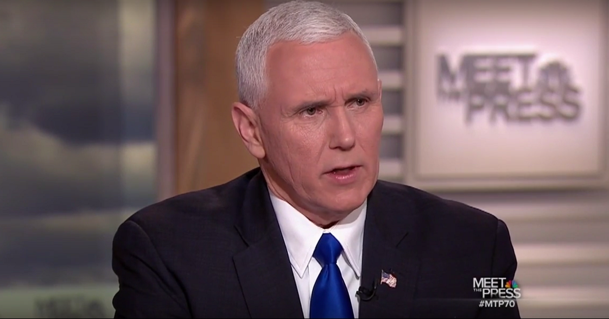 "Vice President Mike Pence remains confident about immigration ban, says ""It was not done hastily"""