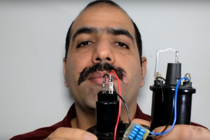 This brave soul tried a number of crazy methods to remove his mustache — for science